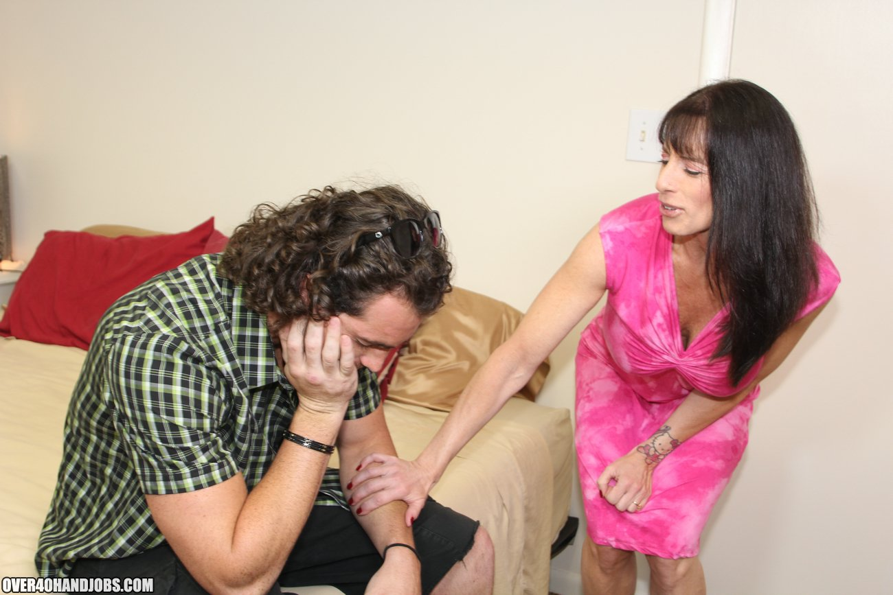 Stepmom consoles stepson after breakup 8