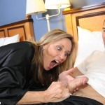 Mrs. West is shocked by how sexy her stepson's cock is