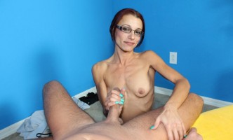 sexy milf jerking a big cock