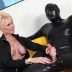 Nikki Sixxx giving a sensual handjob