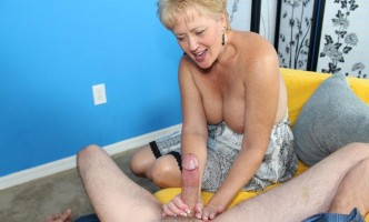 tracy jerking a big prick