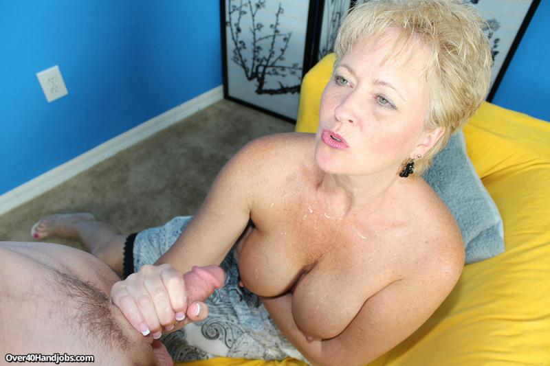 Remarkable, rather Handjob after cumming remarkable, rather