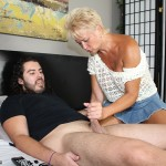 MILF tracy milking cock