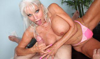 Sally Dangelo milking cock