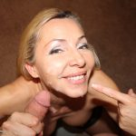 Lisa Demarco gets a messy facial