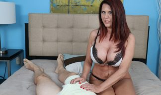 Grace Evangeline giving a handjob
