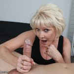 Mrs. Nikki Sixxx Milks A Throbbing Cock