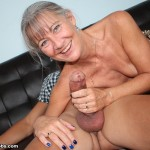 Leilani Lei milking a big cock