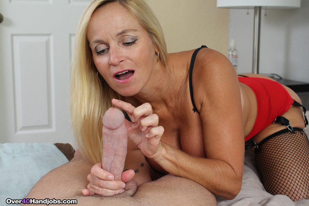 Susy gala strokes his fat cock and takes a hard ride - 5 4