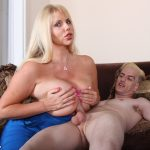 Karen Fisher Tit Fucked By The Delivery Man