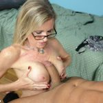 Jade Jameson Drains Spunk Out Of A Fat Dick
