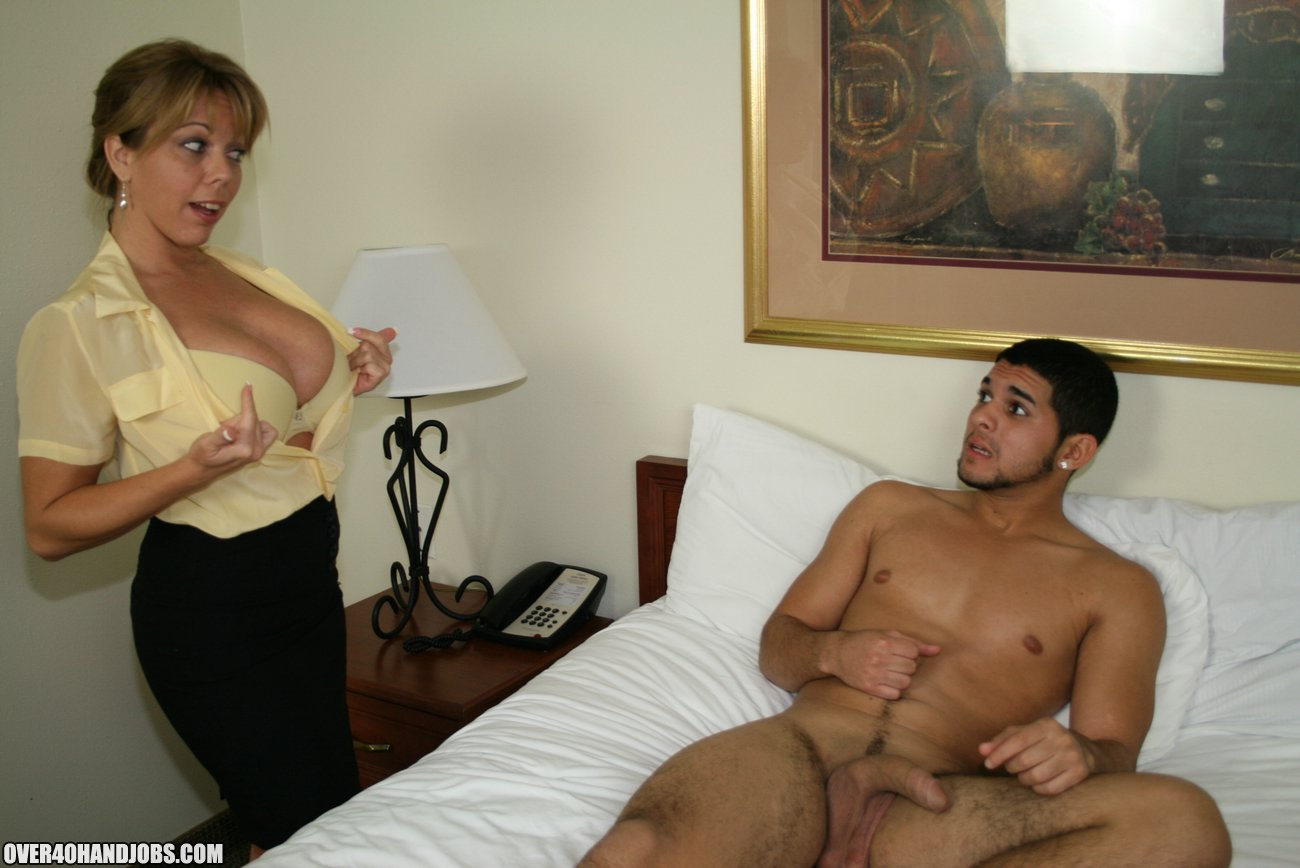 Amber bach handjob