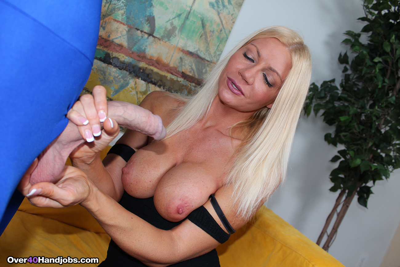 Right! Mature handjob cum shot