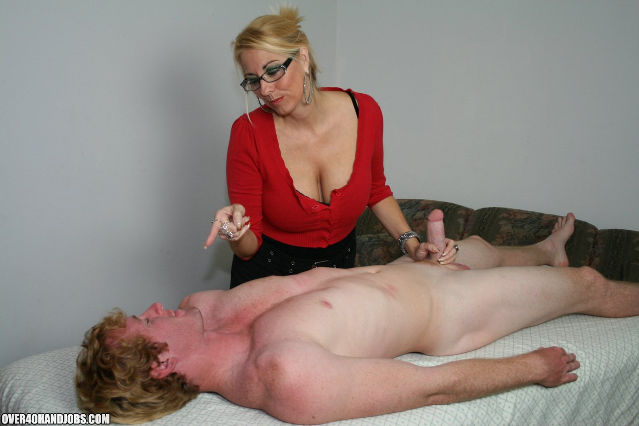 Milf Love Young Stud Cum On Over40Handjobscom-2672