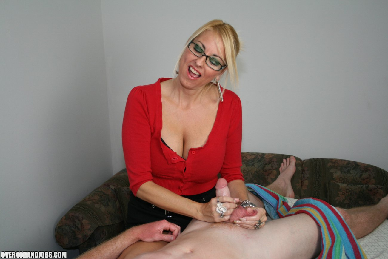 Milf Love Young Stud Cum On Over40Handjobscom-2933