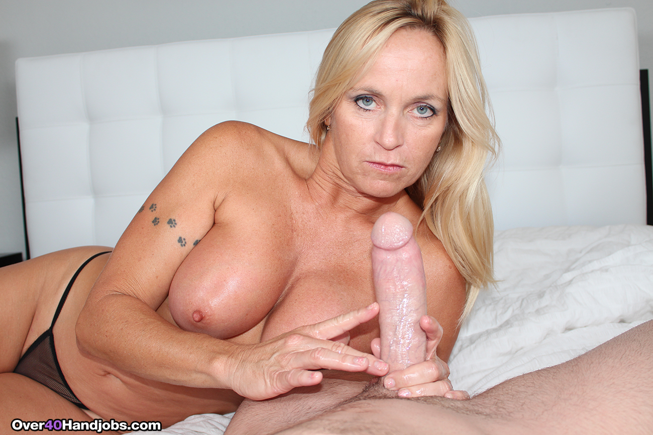 Consider, that mature blonde milfs big tits handjob advise