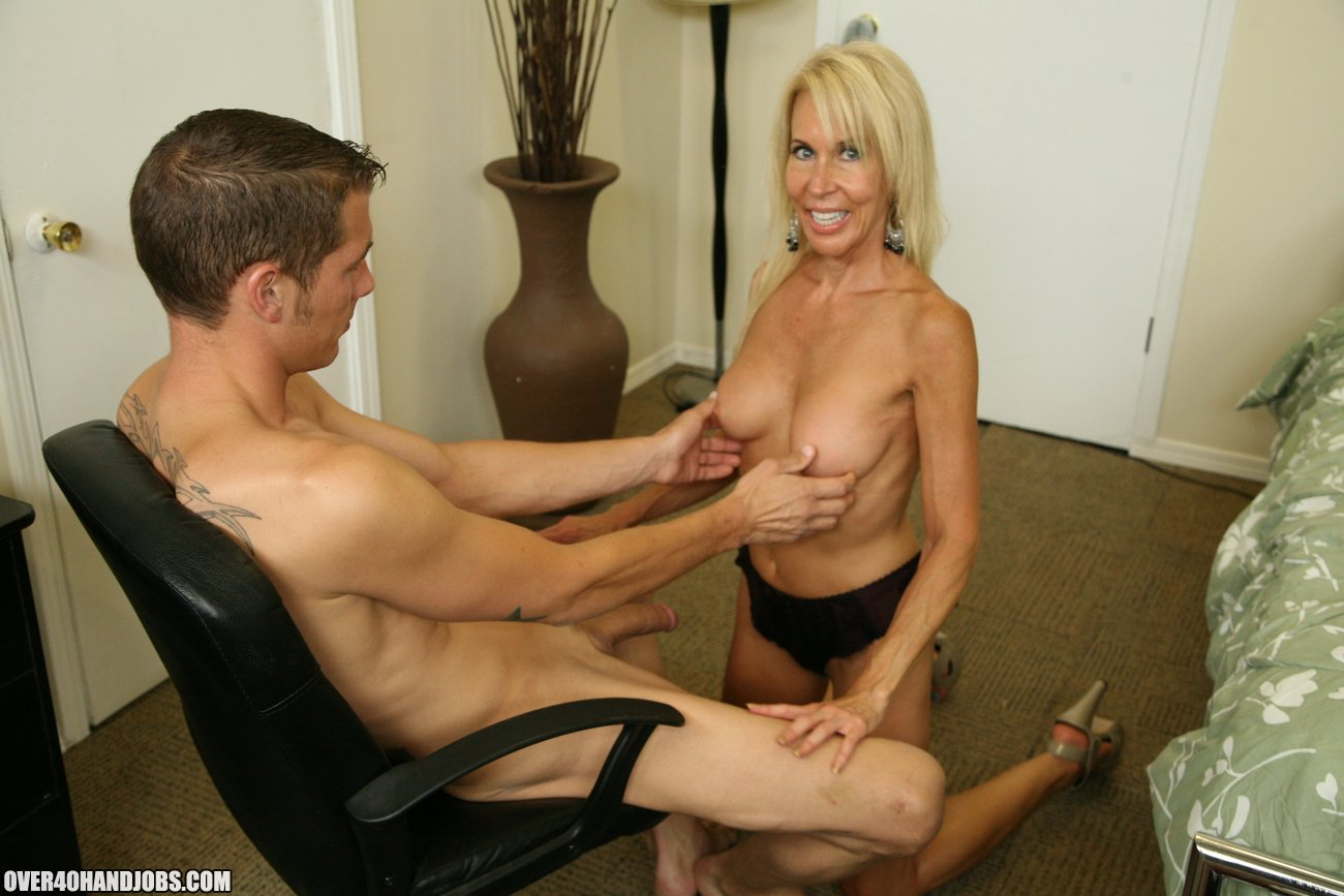 mature women jacking off dicks