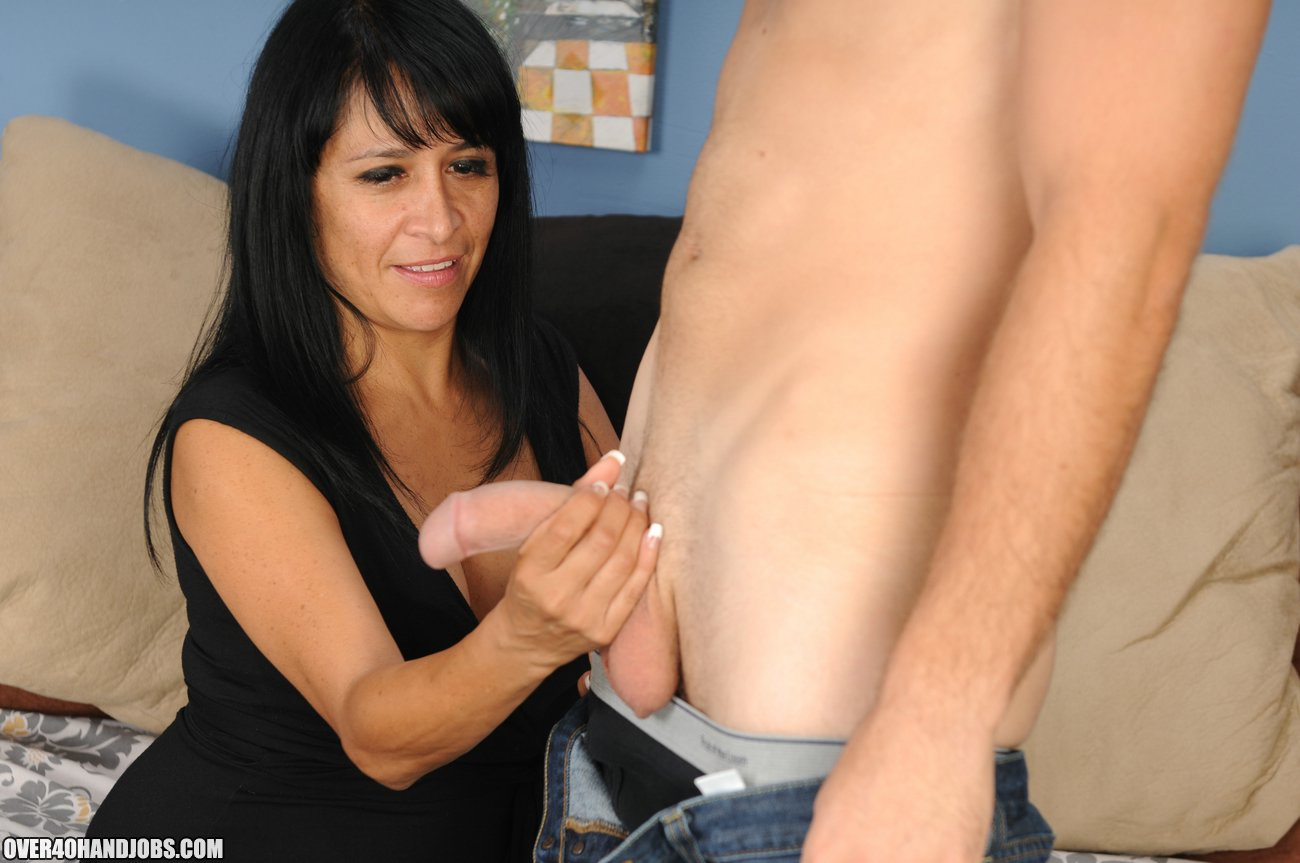 Step Mom Handjob With Isabella Montoya - Over 40 Handjobs -8719