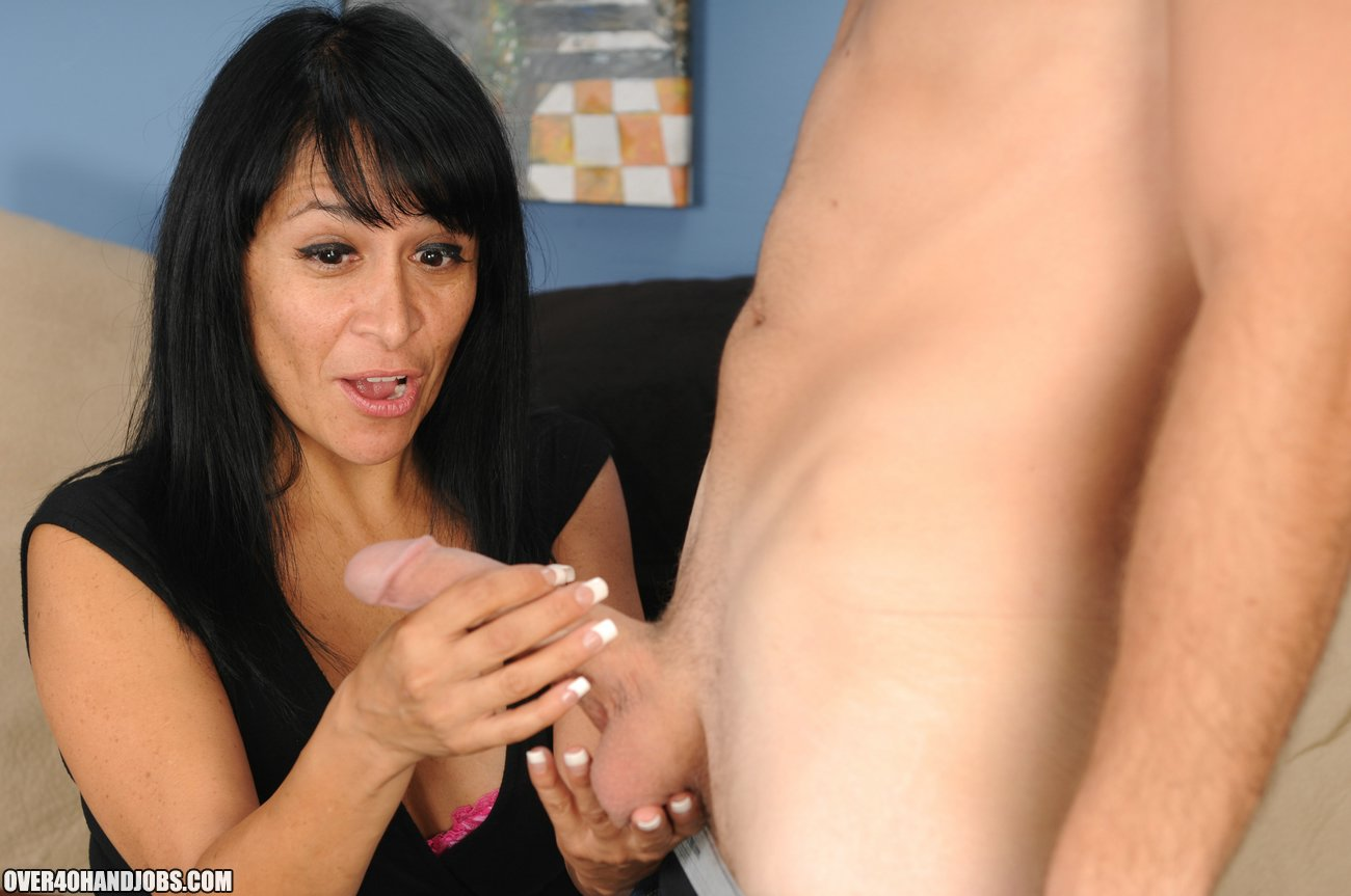 Step Mom Handjob With Isabella Montoya - Over 40 Handjobs -9979