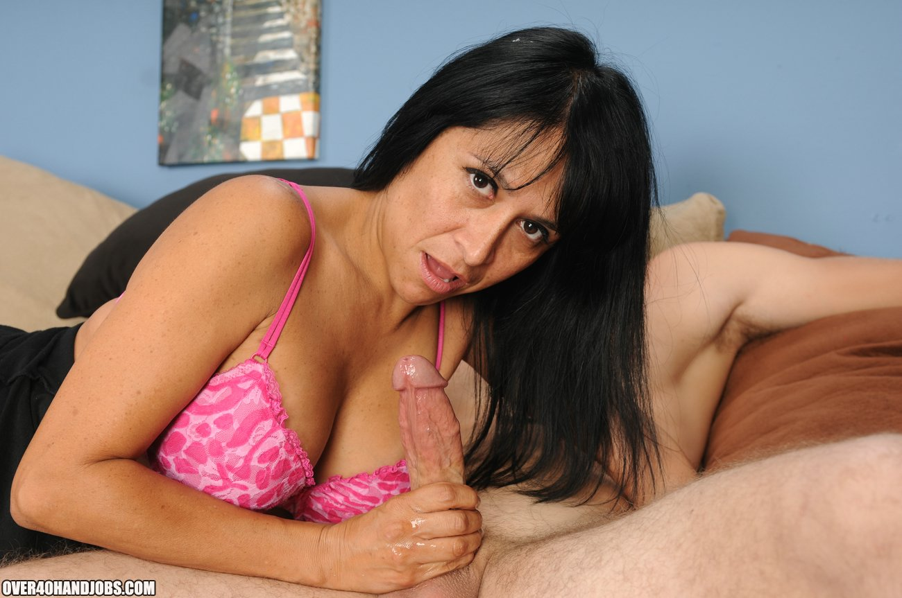 Spicy latina makes him cum in her mouth 10