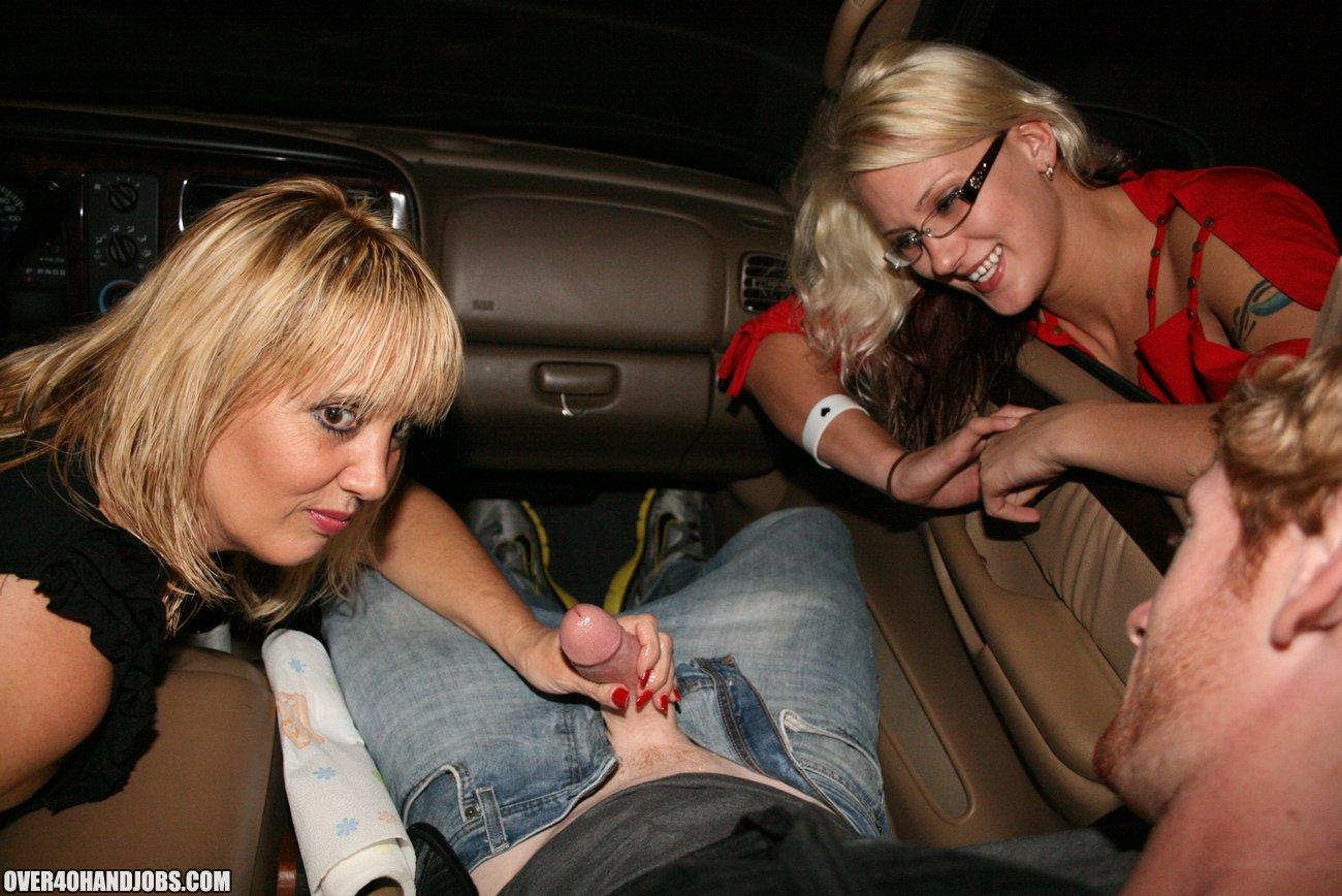 handjob in car video