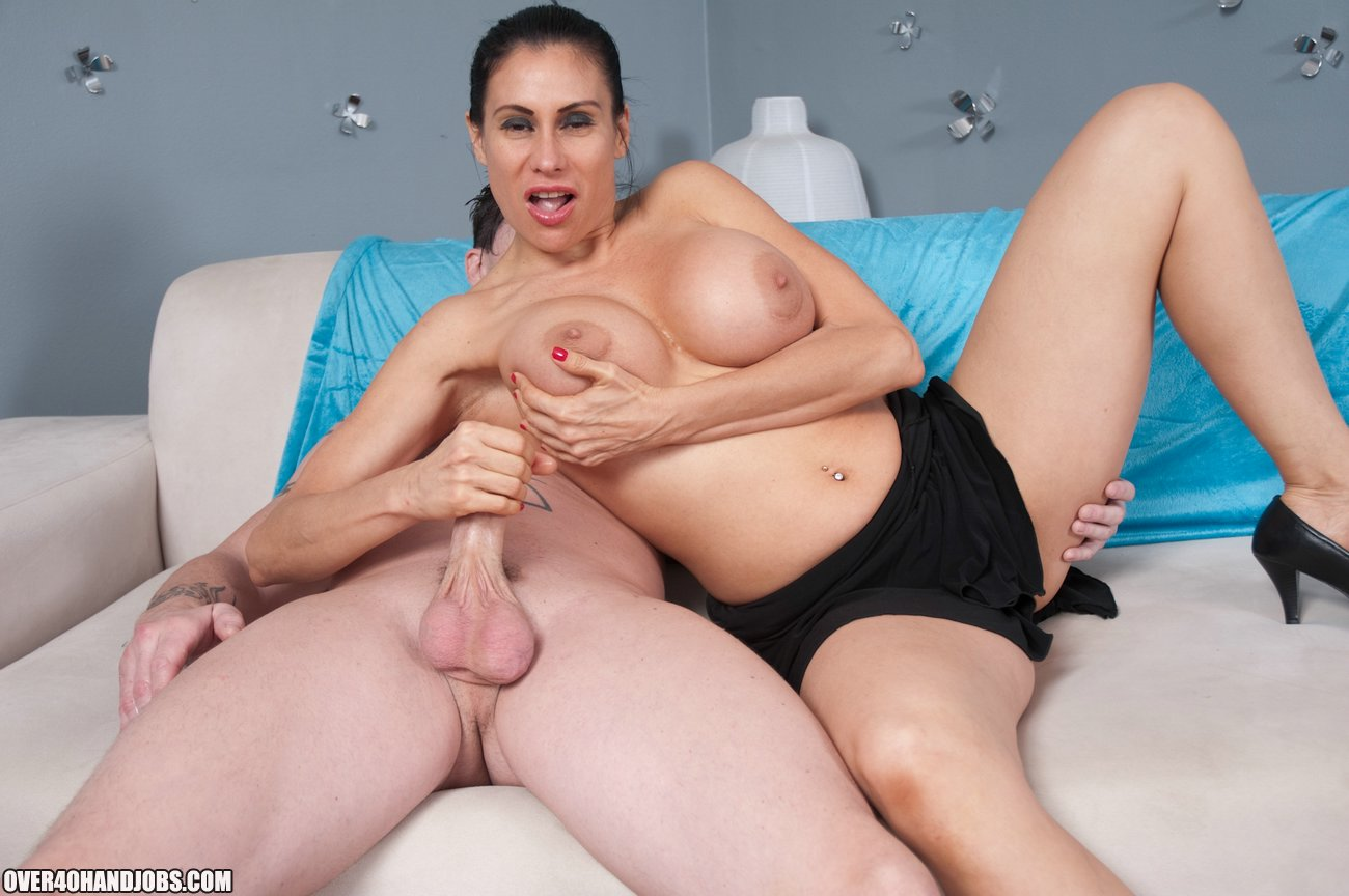 Massive Milf Juggs Get Splattered-6759