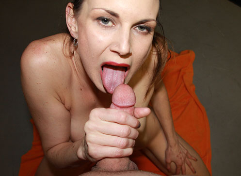3 Handjob Movies - Sexy milf stroking big cock for a facial