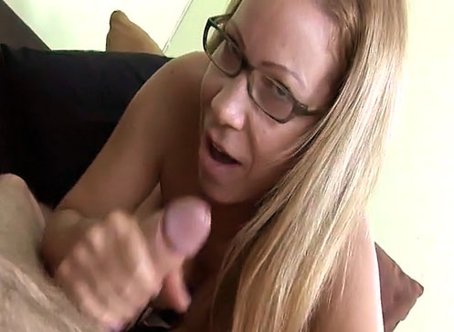 3 Mature Movies - Busty Milf Mrs. Onthewood stroking big cock