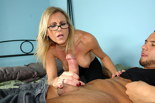 3 Mature Movies - MILF handjob with young guy