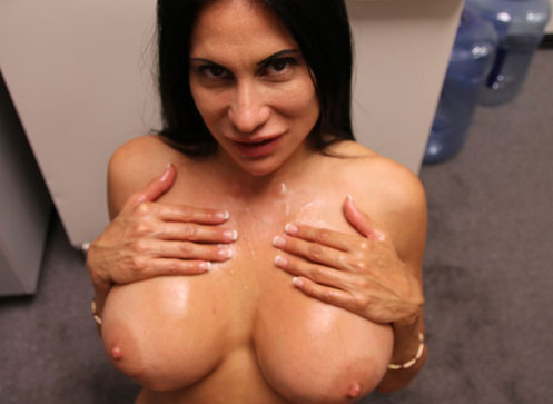 3 Mature Movies - Milf Shiela Marie jerks off her step son