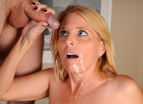 3 Mature Movies - Milf Sky Martin Catches Joey Jerking It and gives him a handjob