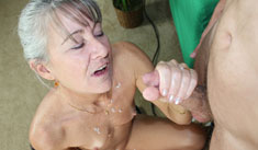 1 Mature Movies - Horny milf caught fucking a sex machine