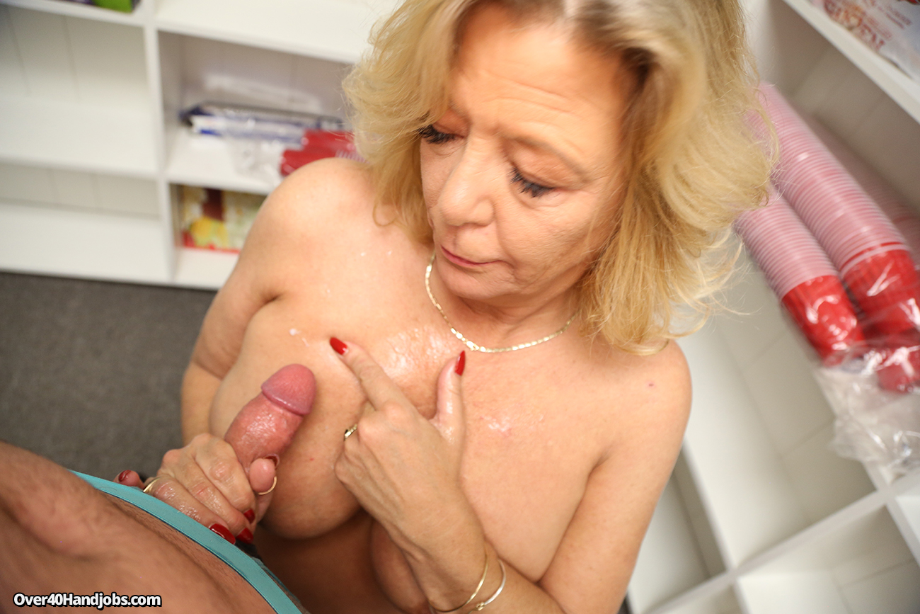 Hand job mom video afraid