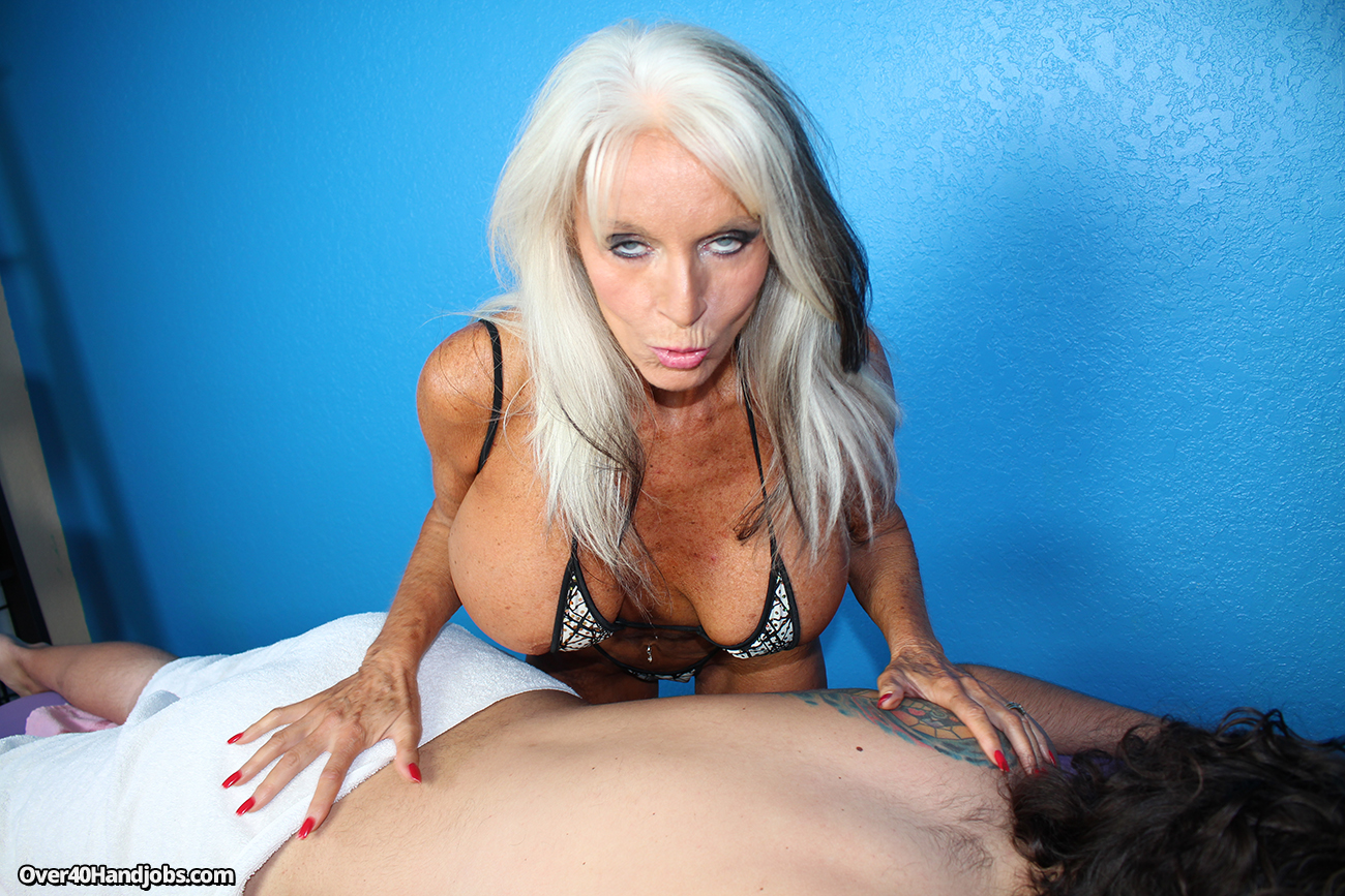 Busty masseuse cock treatment 6
