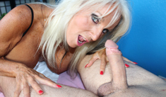 1 Mature Movies - Milf Sally Dangelo giving a mean massage with happy ending