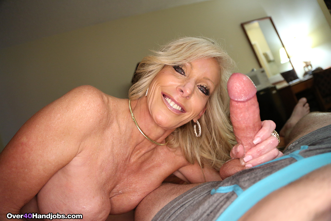 Handjob mature movies
