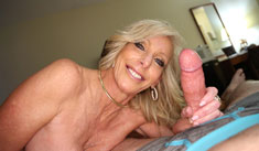 1 Mature Movies - Hot milf Tiffany jerk off her step son in revenge to her husband